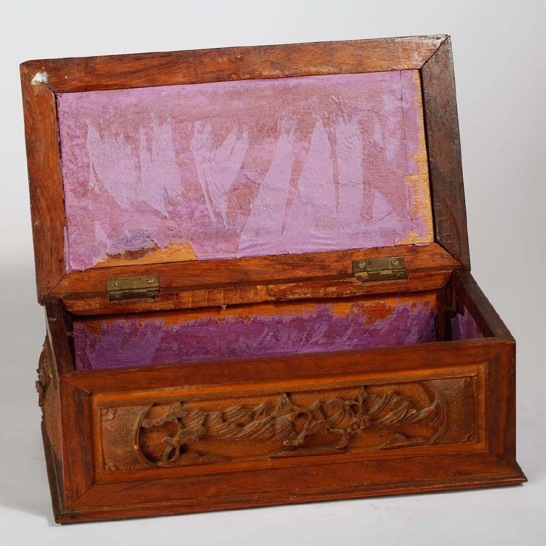CHINESE BOXWOOD BOX - 4