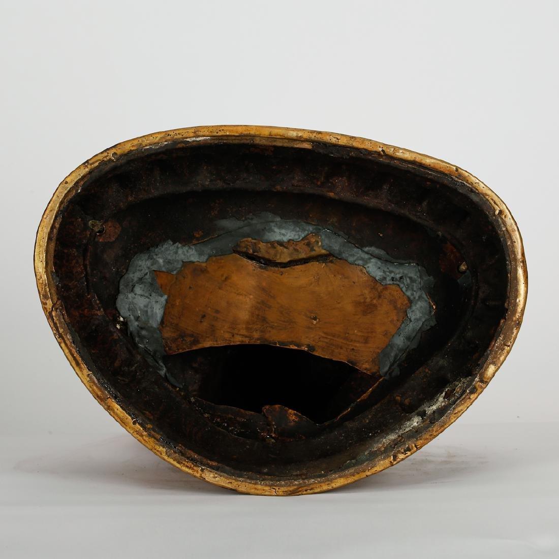 CHINESE BRONZE SEATED SHAKYAMUNI - 9