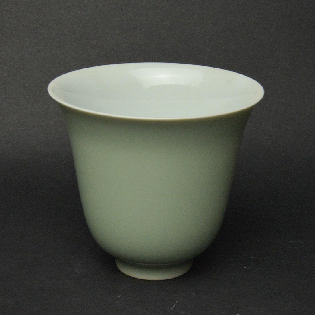 CHINESE PORCELAIN CUPS, PAIR - 3