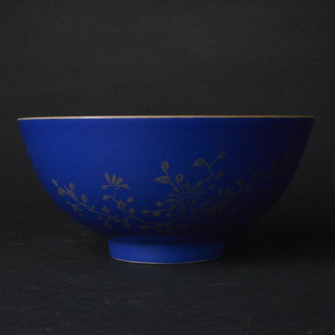 CHINESE BLUE PORCELAIN BOWL
