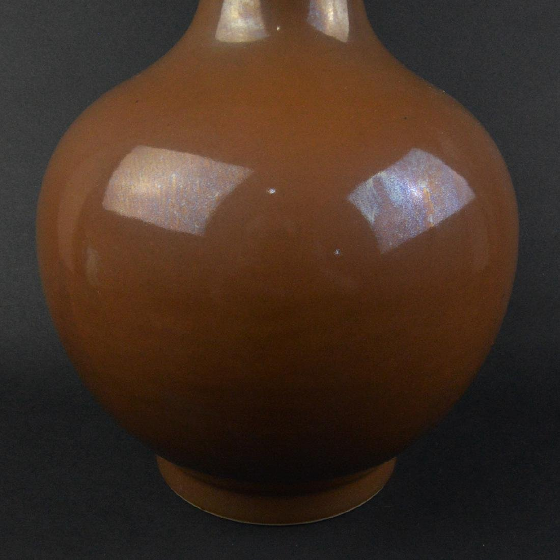 CHINESE BOTTLE VASE - 4