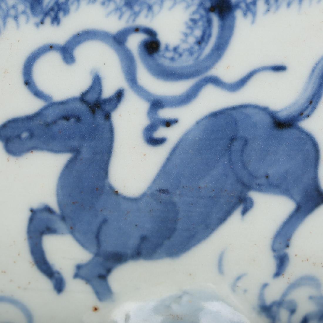 CHINESE BLUE WHITE PORCELAIN JAR - 2