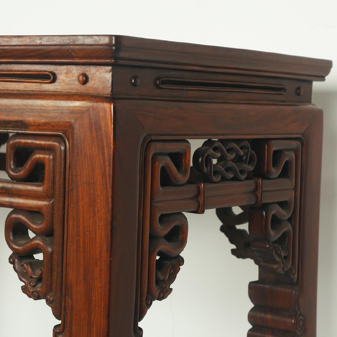 CHINESE ROSEWOOD ALTER TABLE - 7
