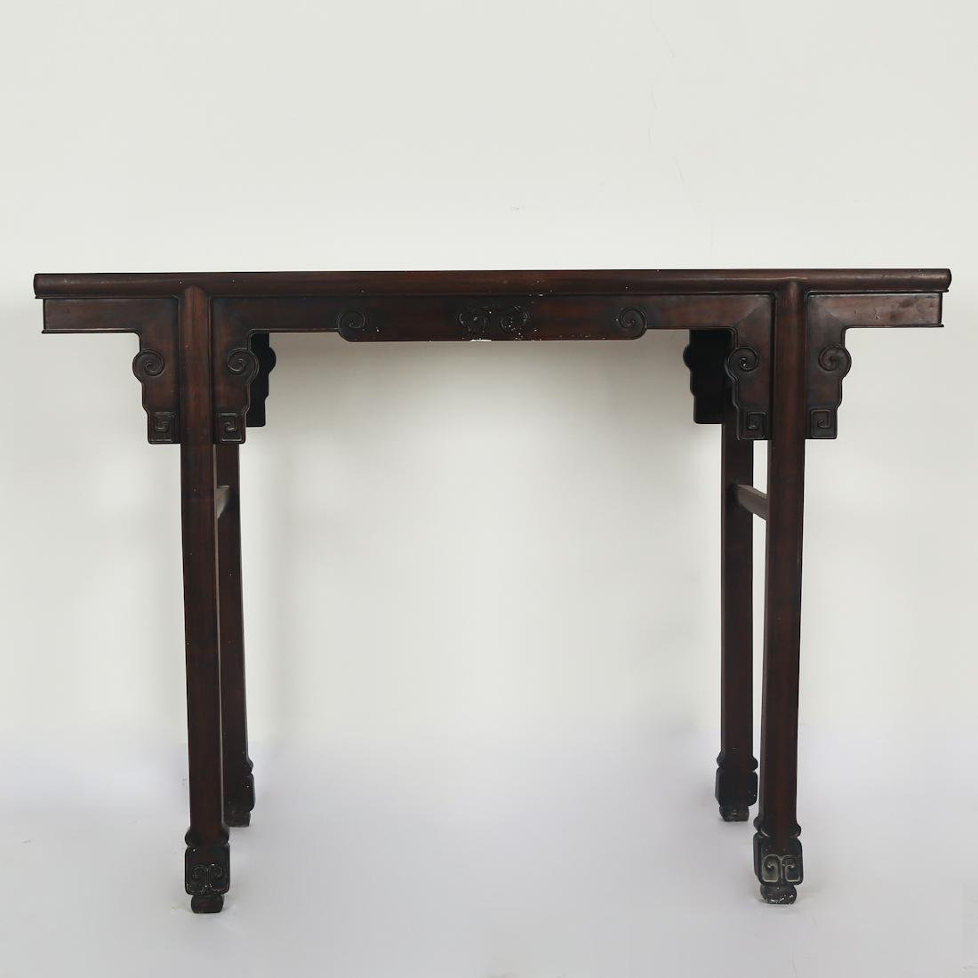 CHINESE HARDWOOD/ZITAN WOOD ALTER TABLE
