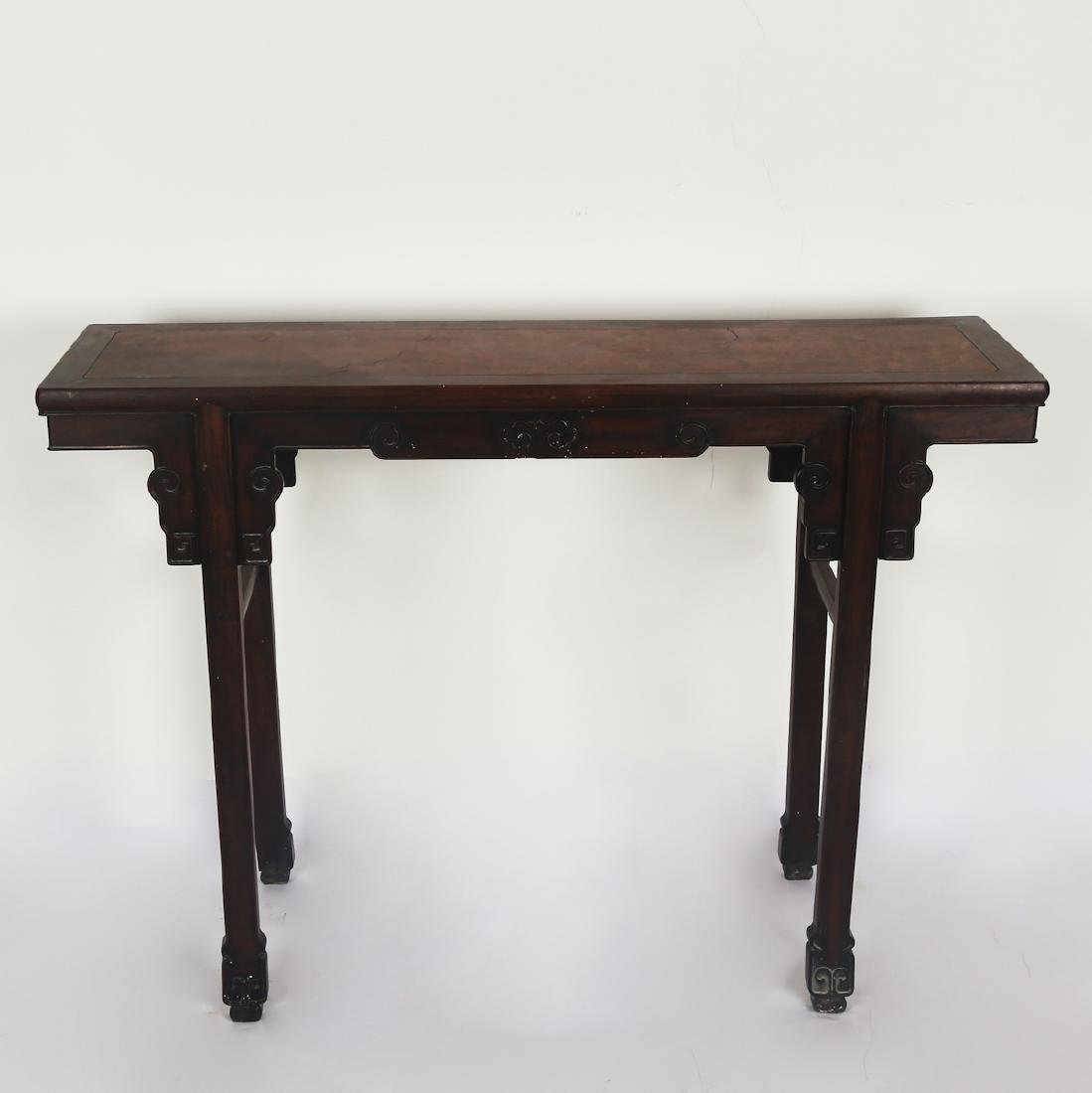 CHINESE HARDWOOD/ZITAN WOOD ALTER TABLE - 2