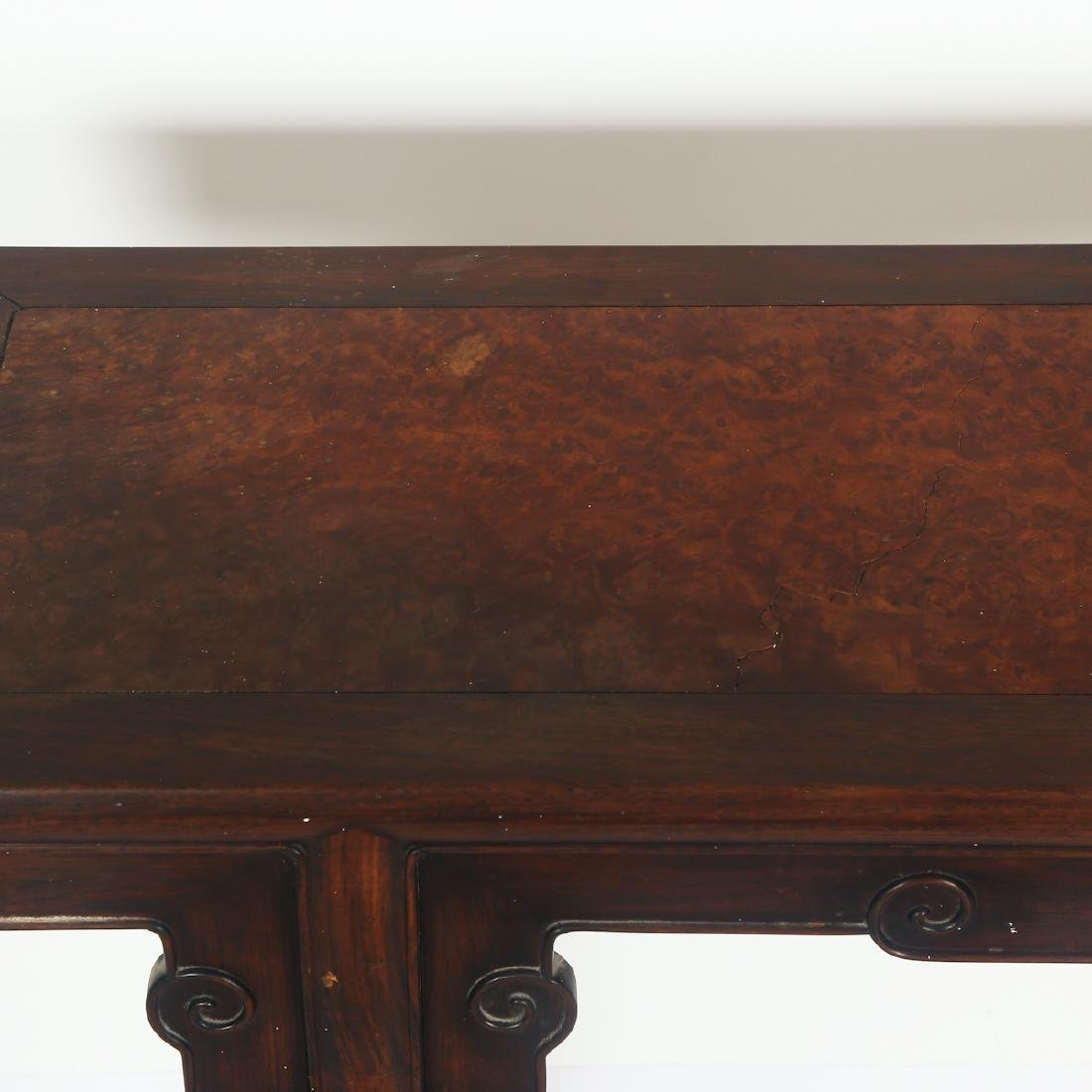 CHINESE HARDWOOD/ZITAN WOOD ALTER TABLE - 4