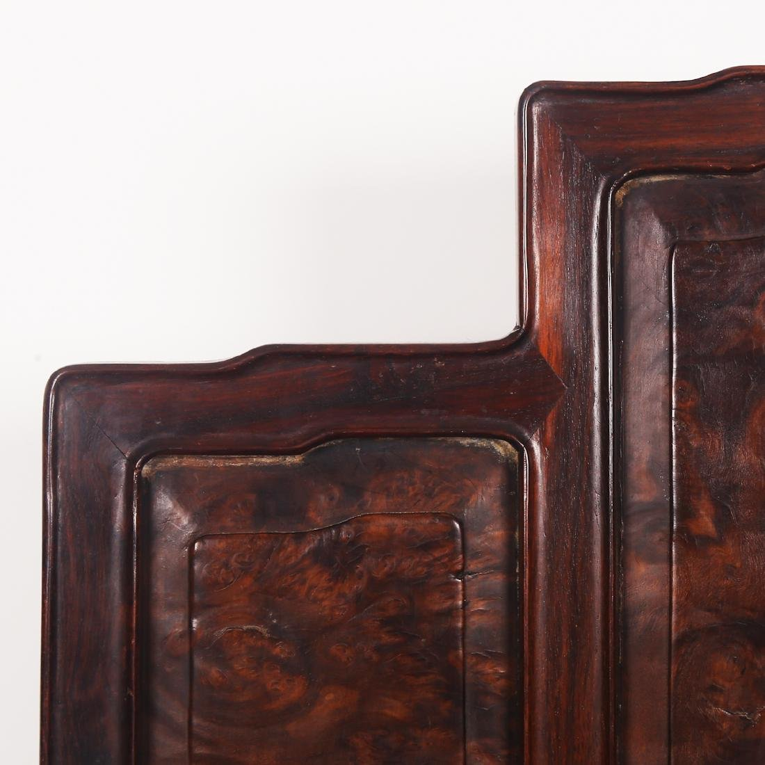 CHINESE ROSEWOOD CHAIR SET - 6