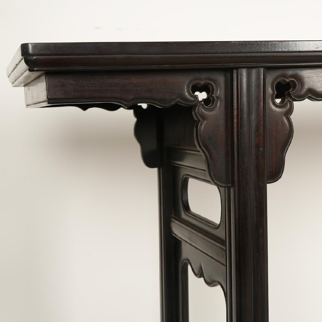 CHINESE HARDWOOD / ZITAN ALTER TABLE - 2