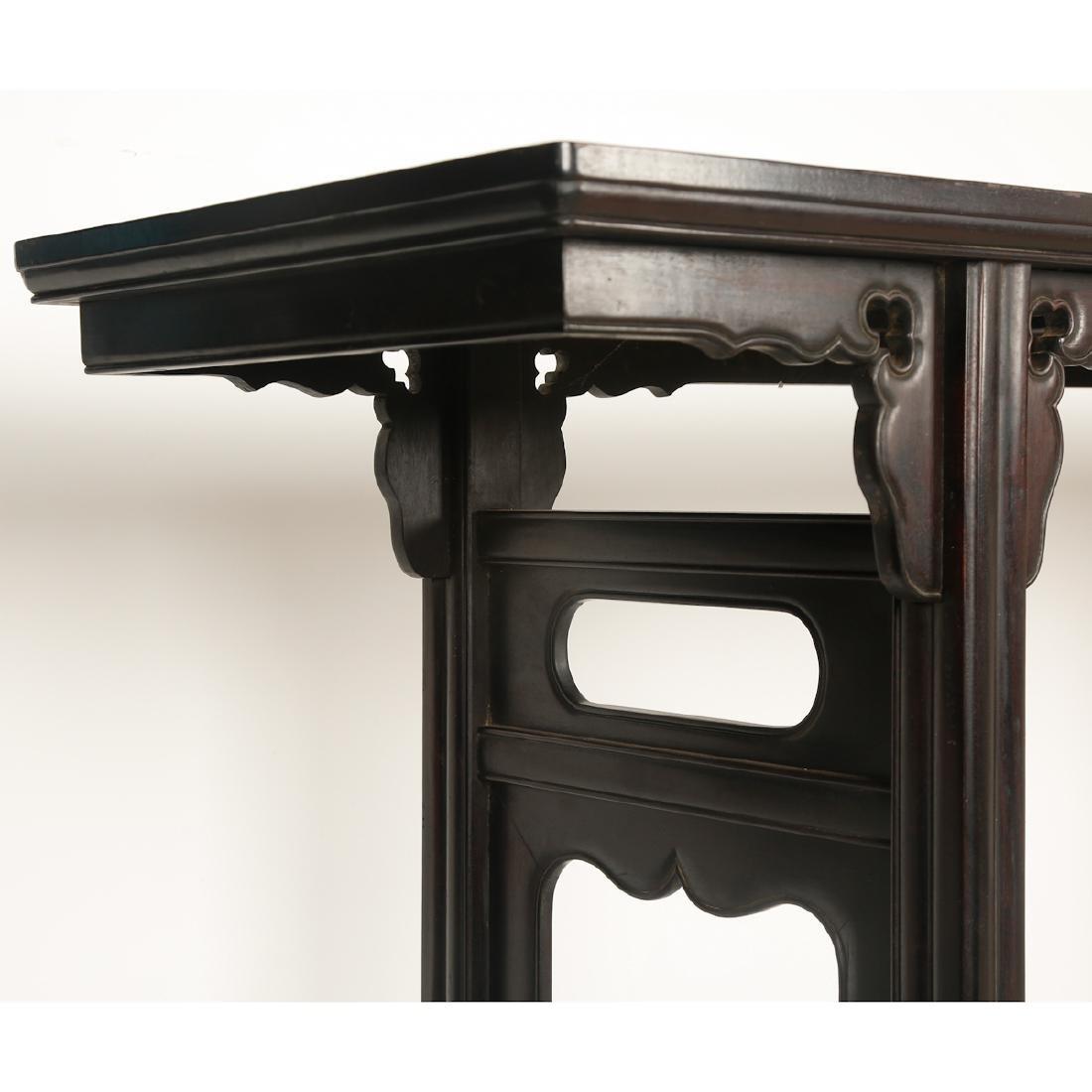 CHINESE HARDWOOD / ZITAN ALTER TABLE - 3
