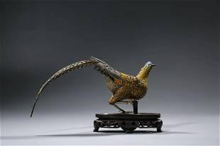 Chinese Silver Wiring Pheasant