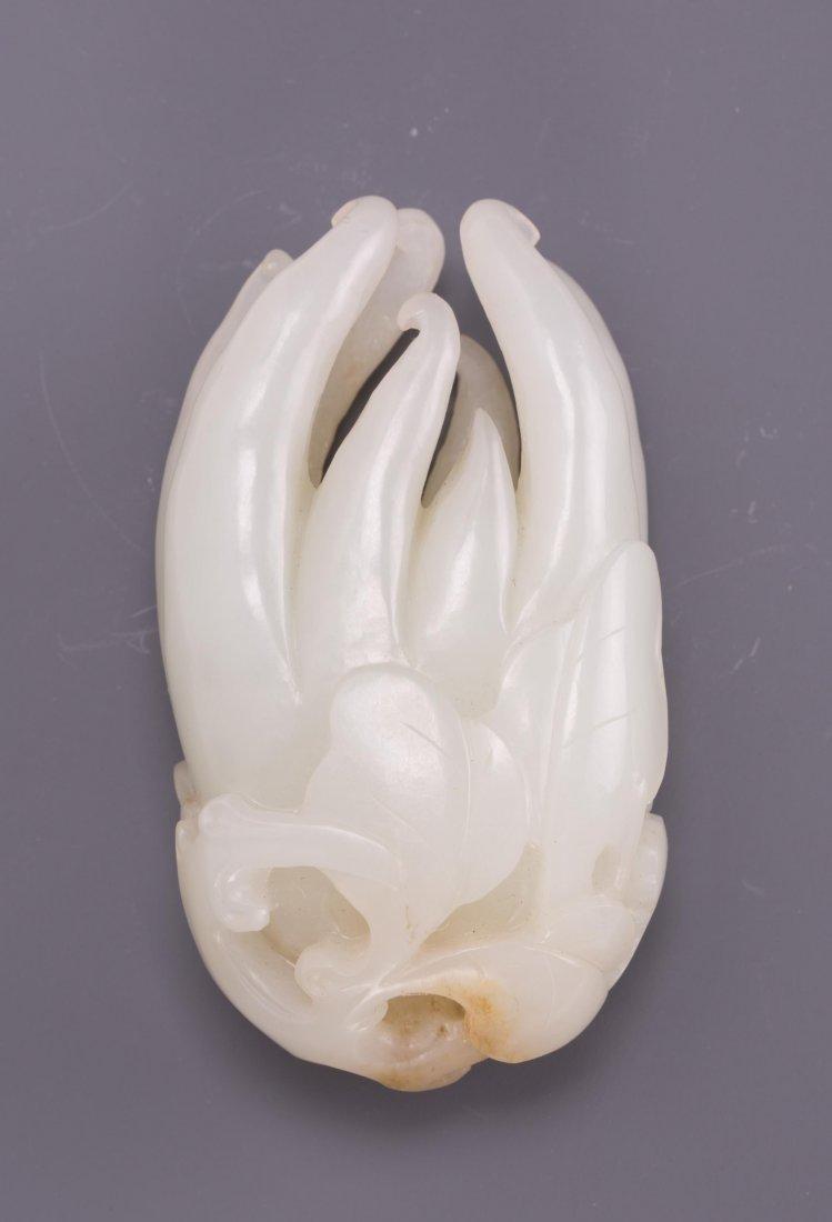 CHINESE WHITE JADE FINGER-CITRON (BUDDHA HAND)