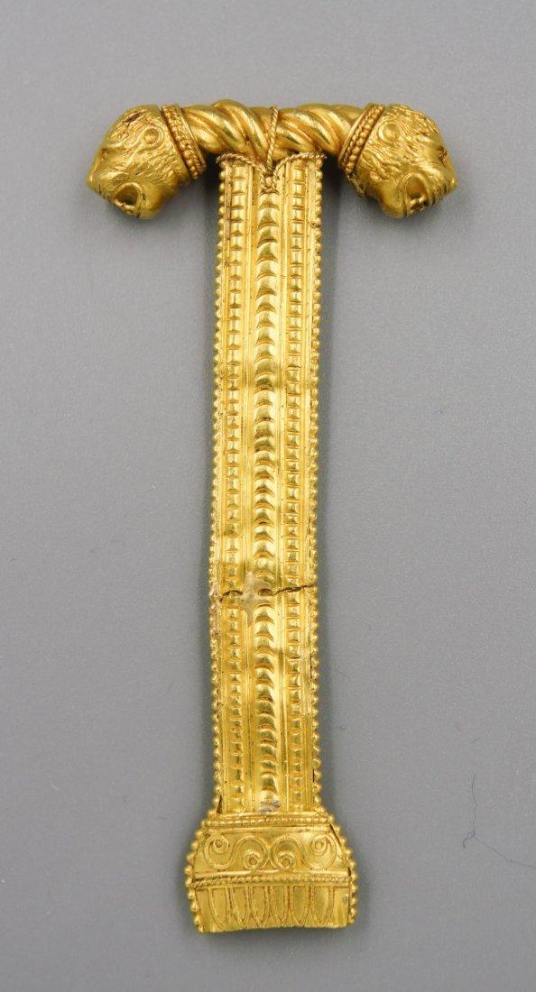 ACHAEMENID PERSIAN EMPIRE GOLD HANDLE