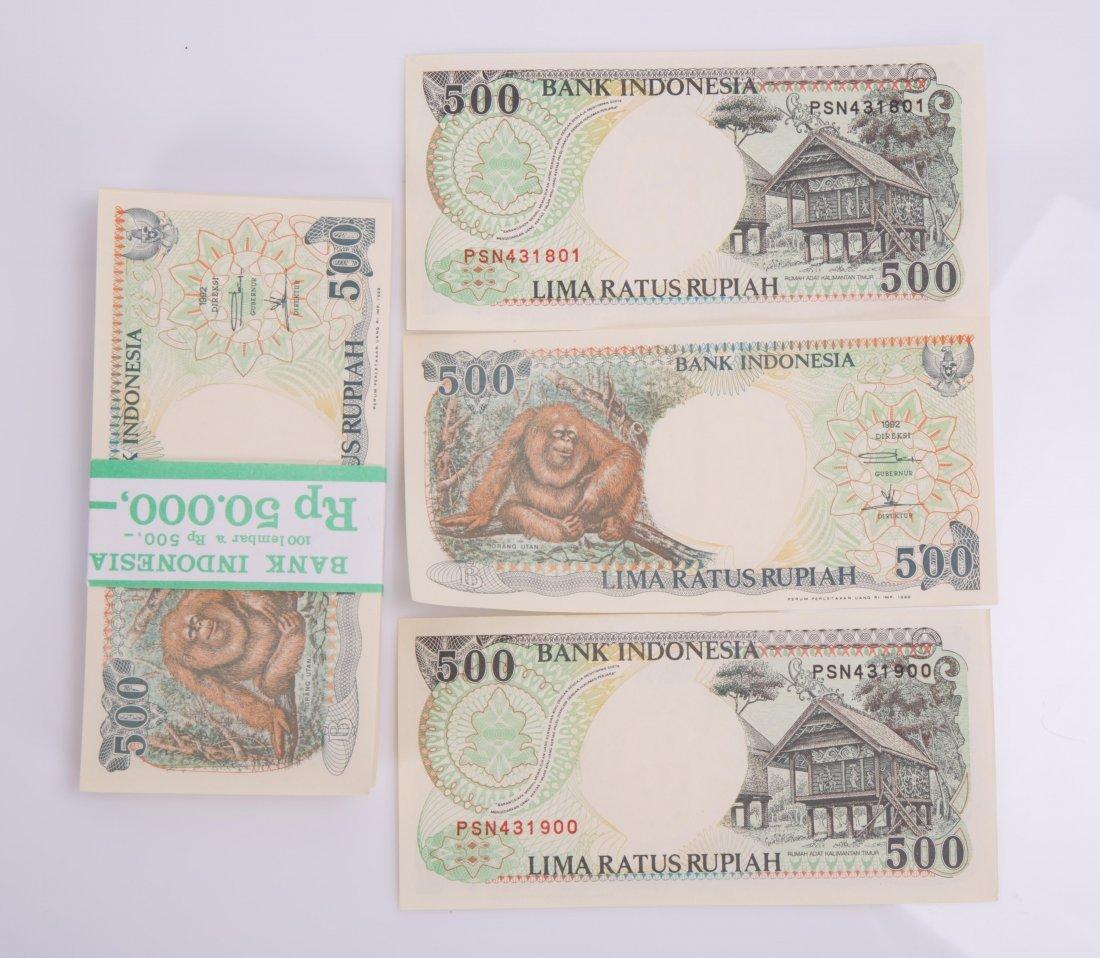 INDONESIA BANK 500 RUPIAH, 1992