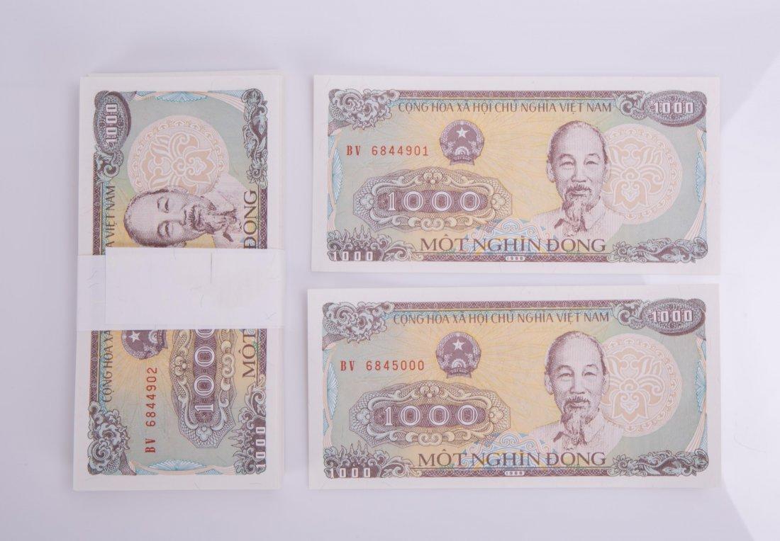 VIETNAM STATE BANK 1000 DONG, 1988