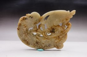 An Chinese Archaistic Dragon Pendent