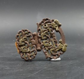 """A Chinese Bronze Article """"tixie"""""""