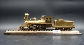 An Antique Model Of A Train