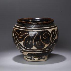 Chinese Yuan Cizhou Ware Jar