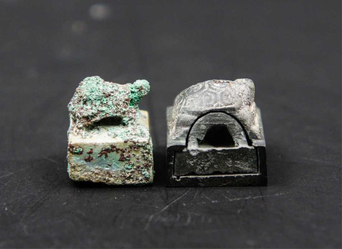 2 Chinese Han Dynasty Bronze Seals