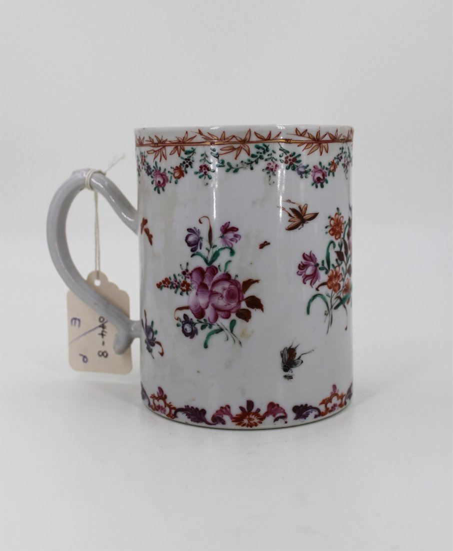 18TH CENTURY CHINESE FAMILLE ROSE CUP - 2