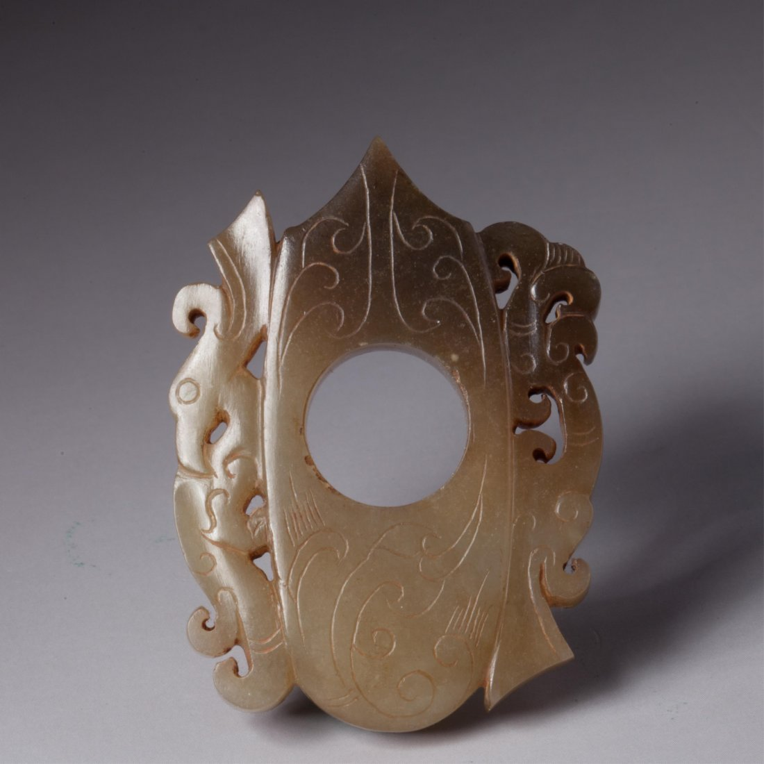 CHINESE JADE CARVED PENDANT