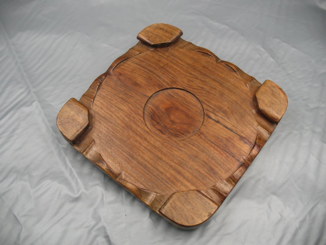 A CHINESE HARDWOOD STAND - 3