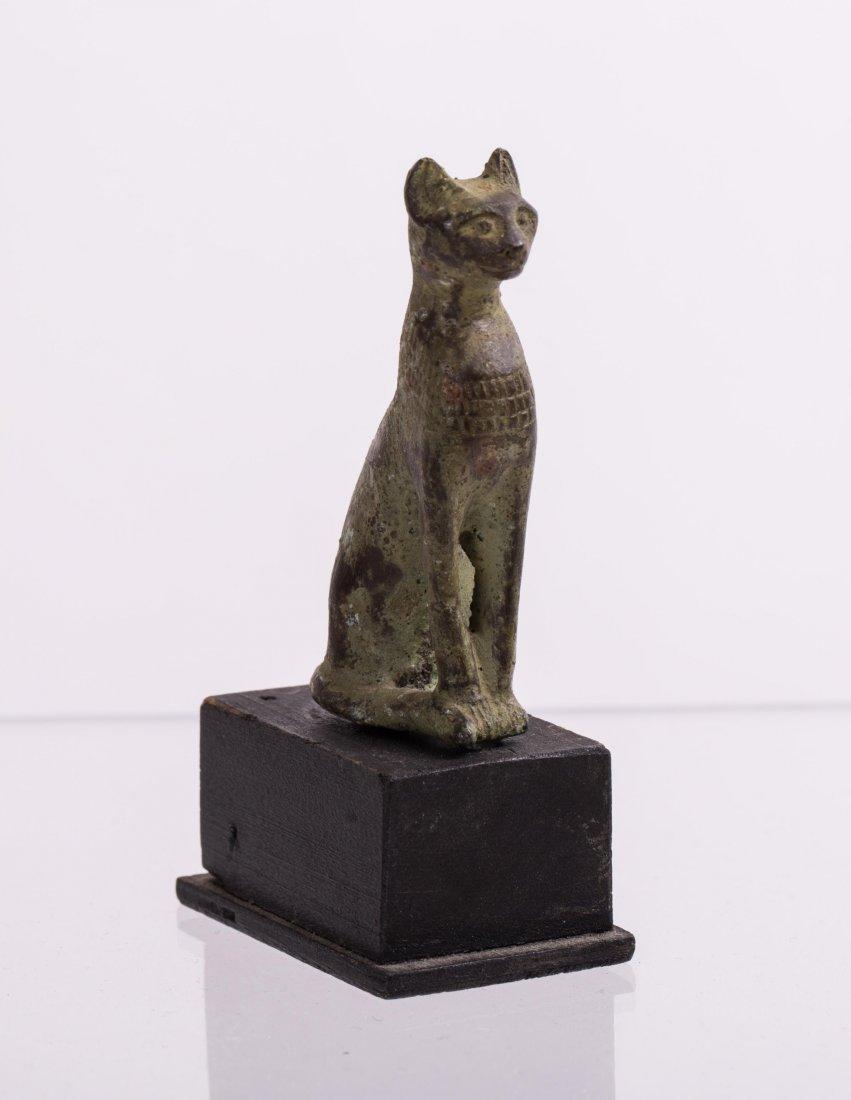 ANCIENT EGYPTIAN BRONZE CAT