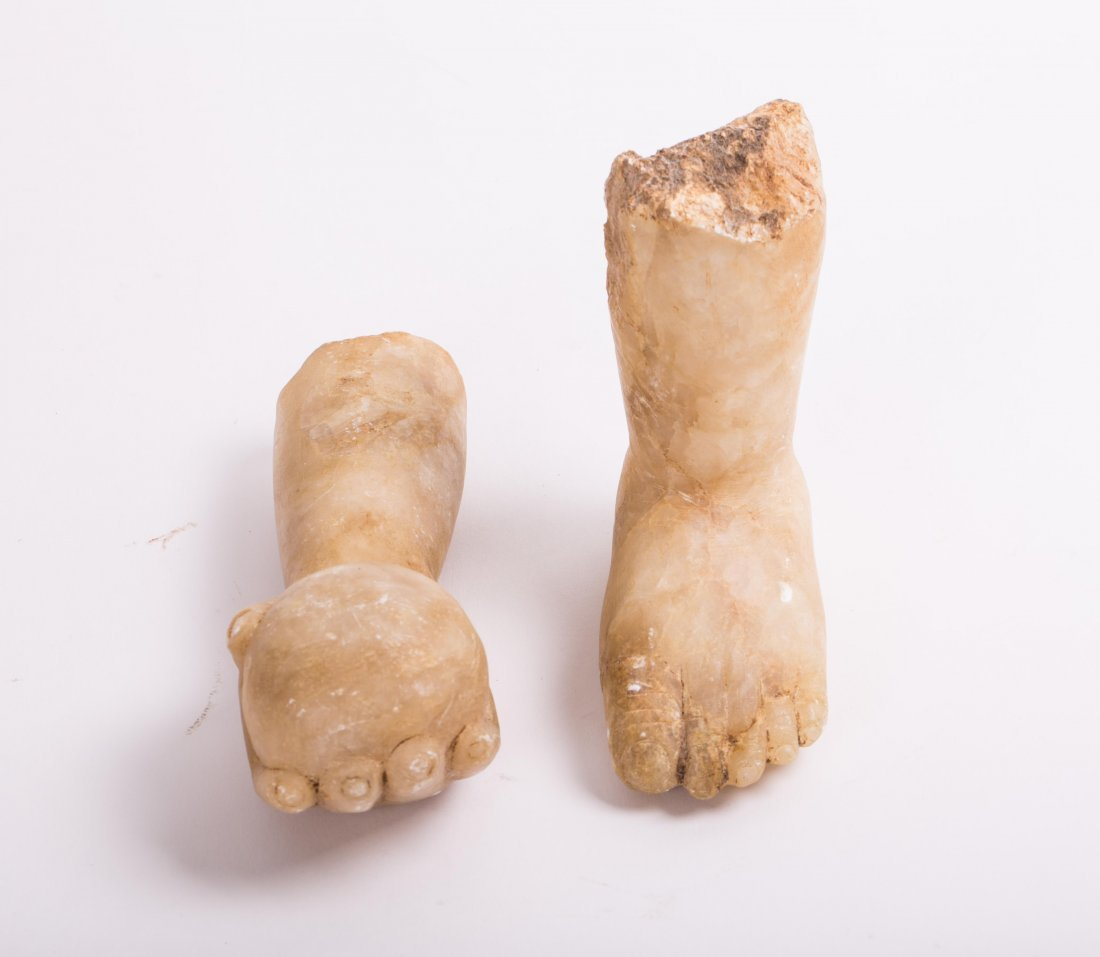 ROMAN MARBLE FOOT AND HAND GROUP