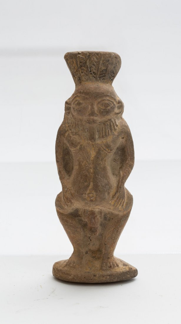 ANCIENT EGYPTIAN TERRACOTTA BES