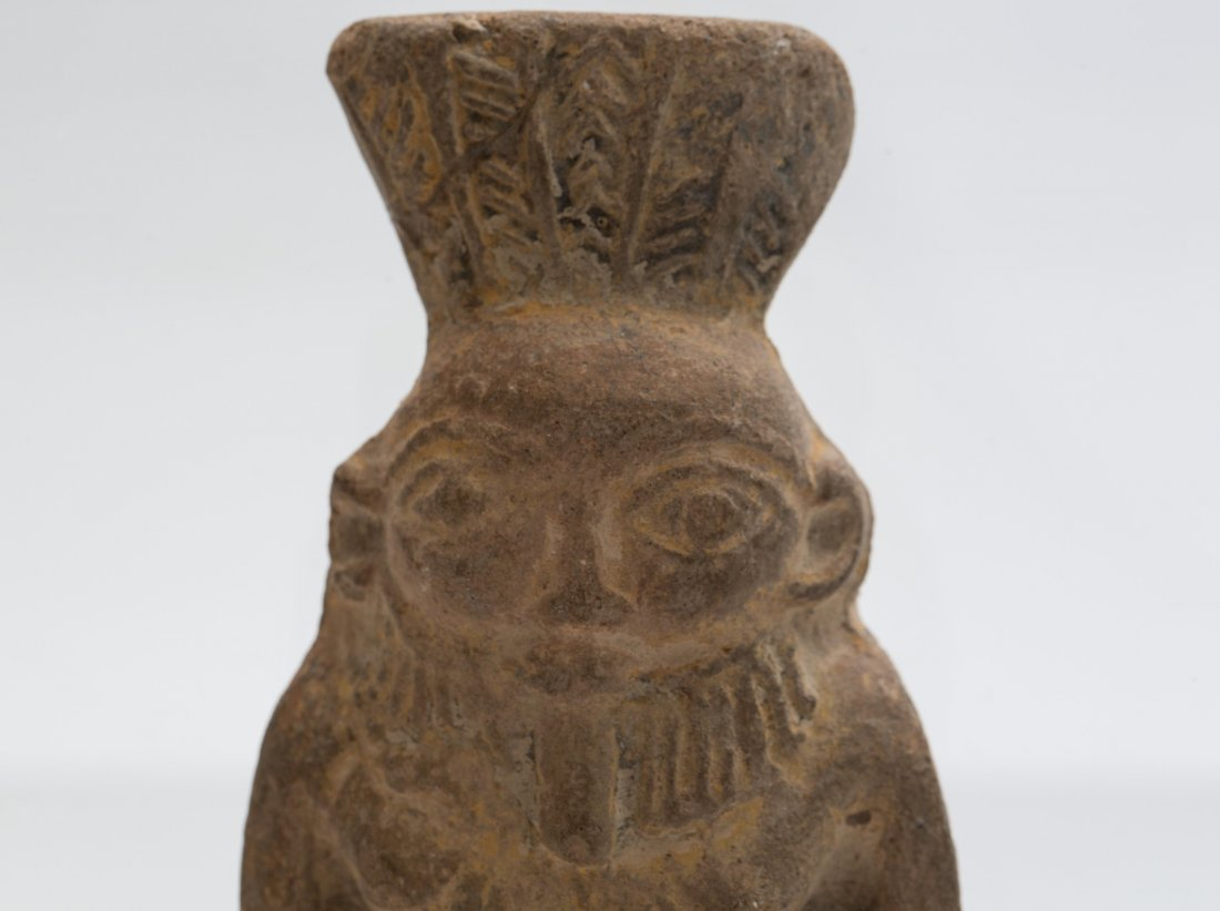 ANCIENT EGYPTIAN TERRACOTTA BES - 2