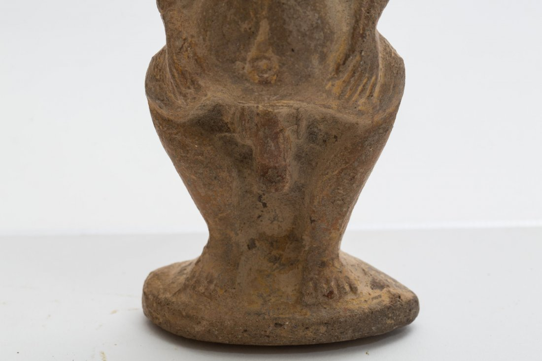 ANCIENT EGYPTIAN TERRACOTTA BES - 4