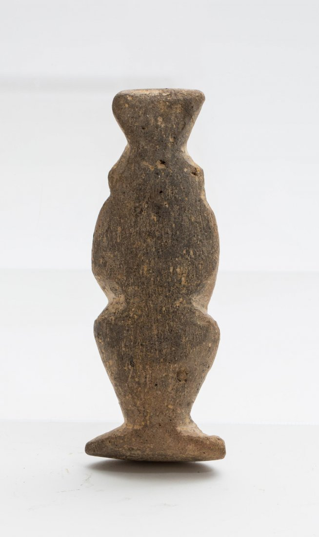 ANCIENT EGYPTIAN TERRACOTTA BES - 5