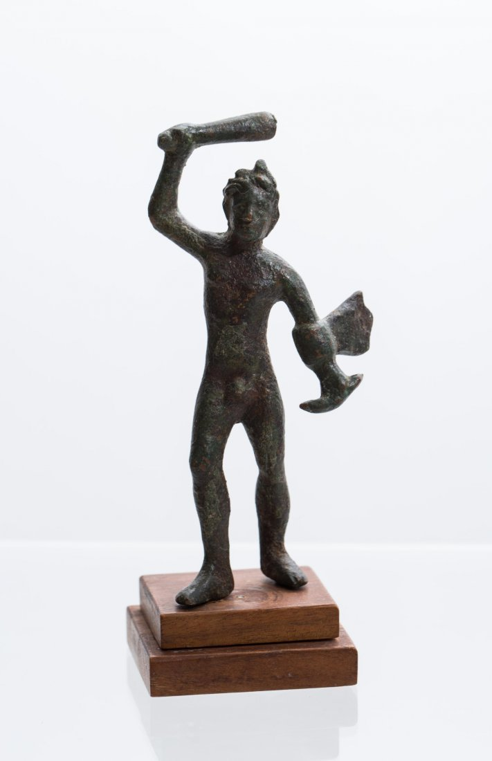 ANCIENT ROMAN BRONZE STATUE