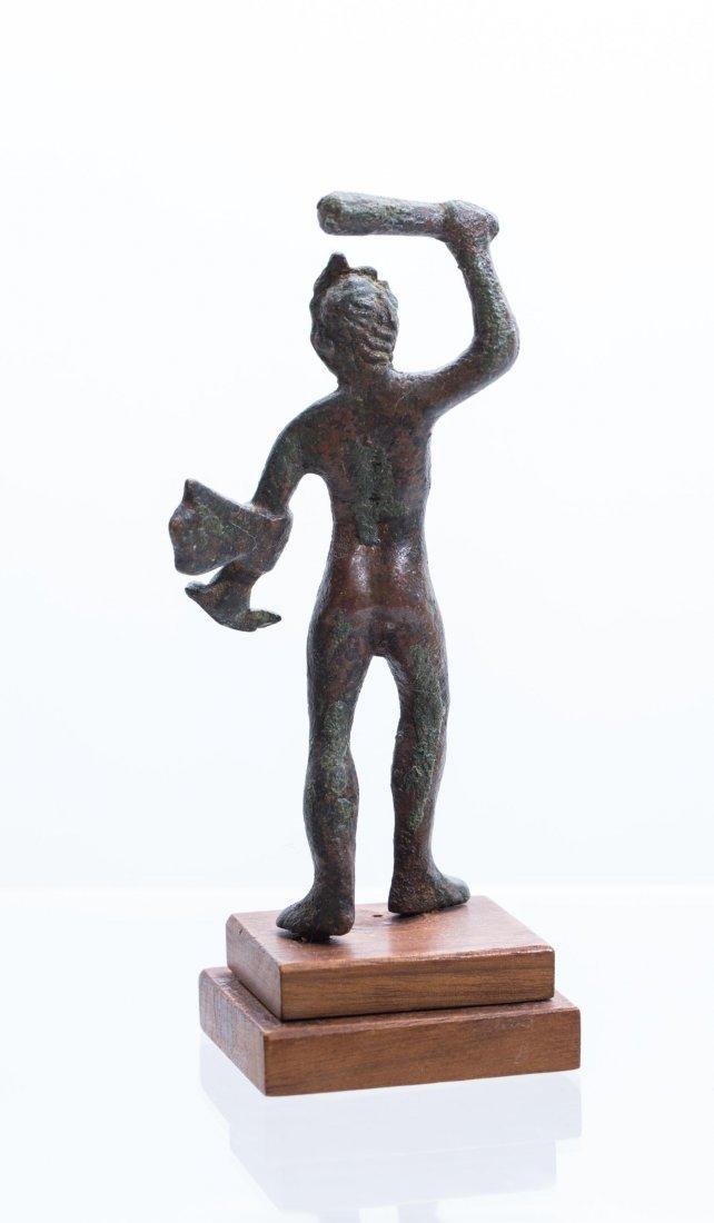 ANCIENT ROMAN BRONZE STATUE - 5