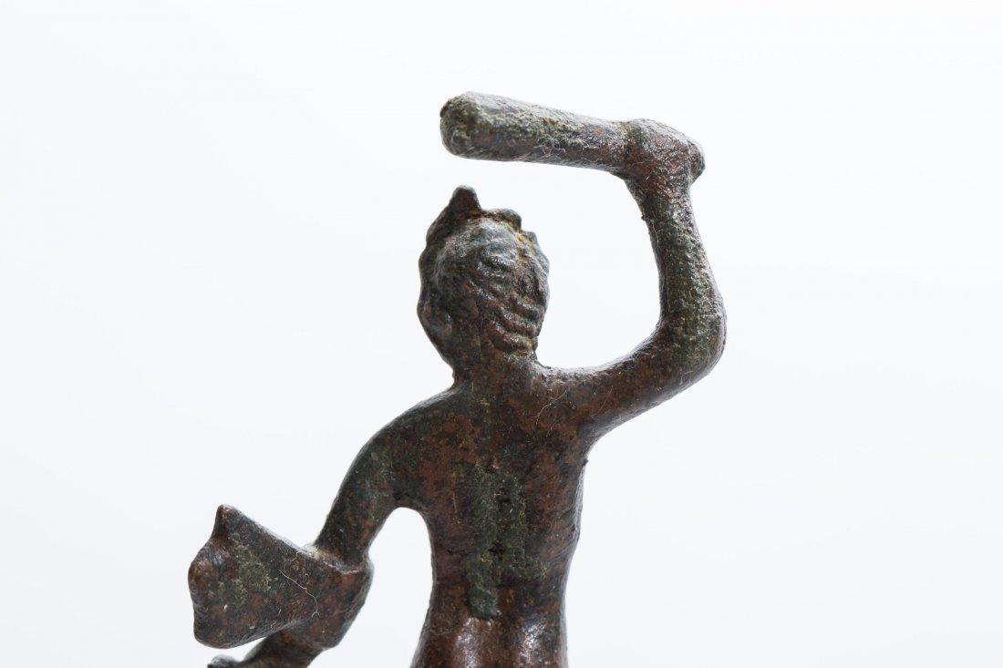 ANCIENT ROMAN BRONZE STATUE - 6