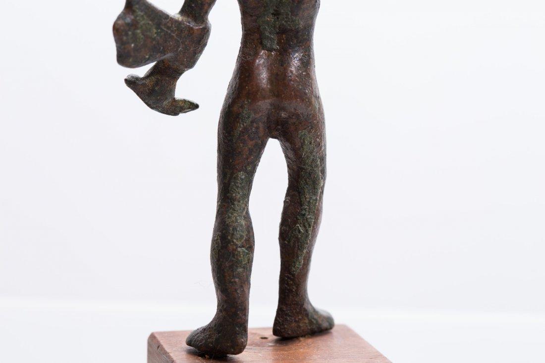 ANCIENT ROMAN BRONZE STATUE - 7