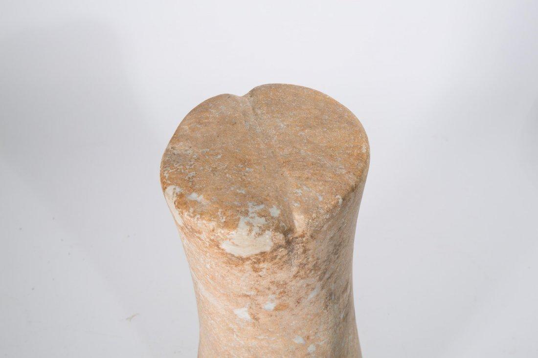 "ANCIENT BACTRIAN STONE ""COLUMN IDO"" - 2"