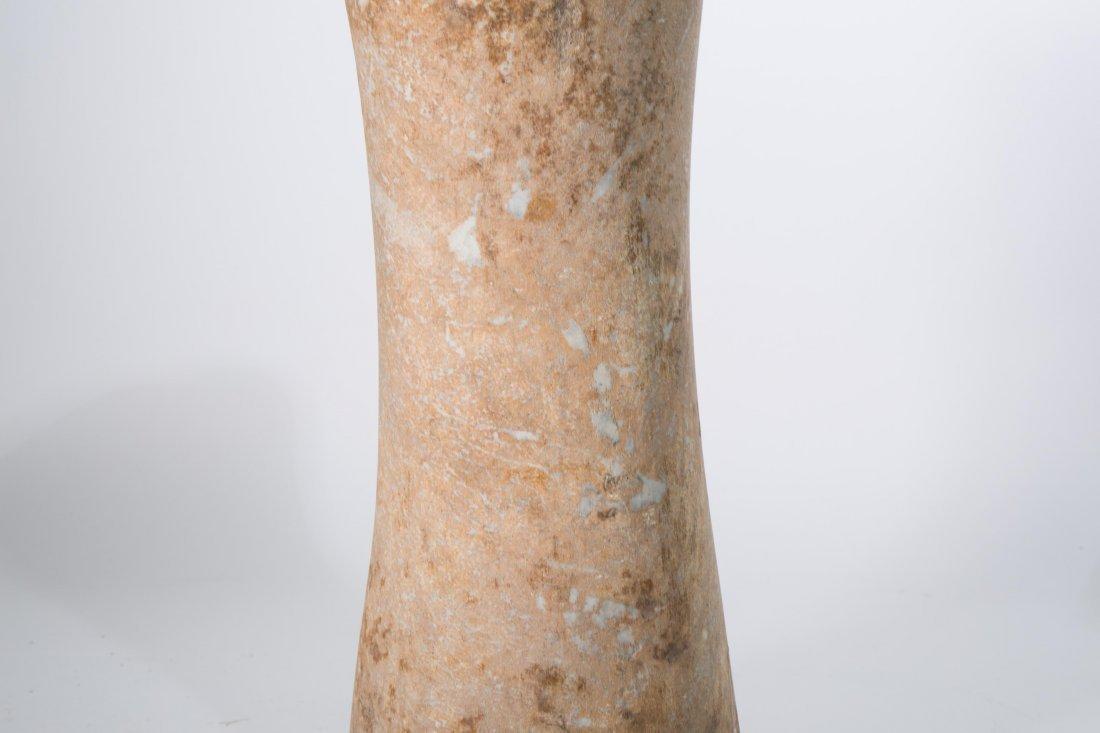 "ANCIENT BACTRIAN STONE ""COLUMN IDO"" - 3"