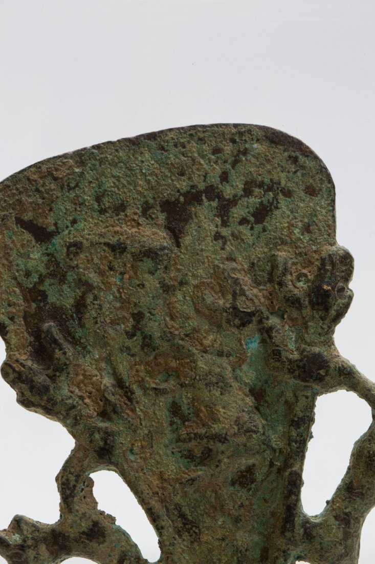 LURISTAN BRONZE AXE AND KNIFE - 4