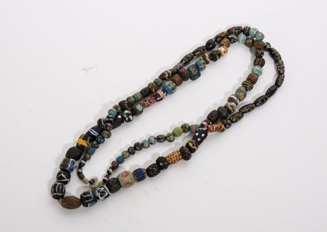 ANCIENT ROMAN ISLAMIC MOSAIC BEADS NECKLACE