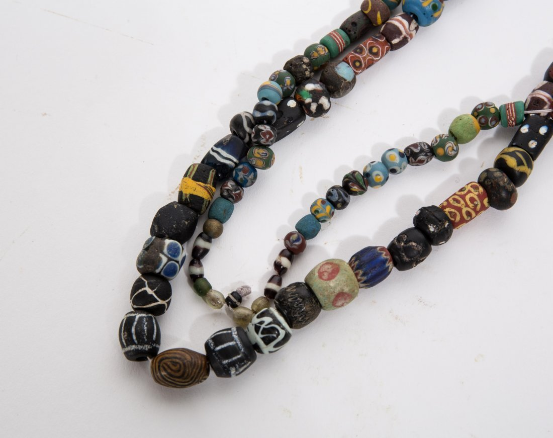 ANCIENT ROMAN ISLAMIC MOSAIC BEADS NECKLACE - 2
