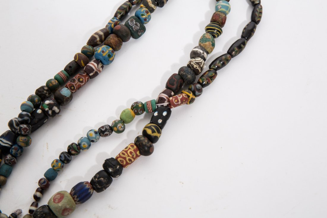 ANCIENT ROMAN ISLAMIC MOSAIC BEADS NECKLACE - 3