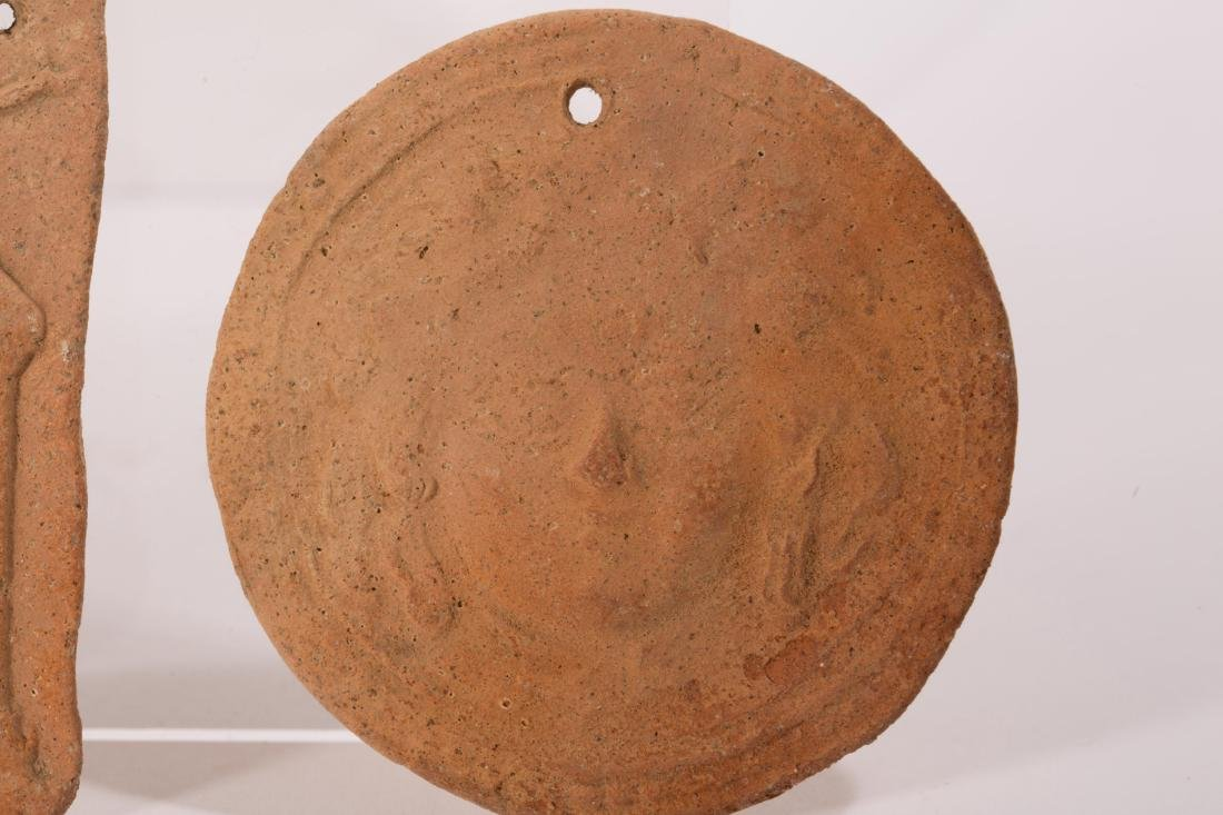 GROUP OF 5 ANCIENT CLAYS - 2