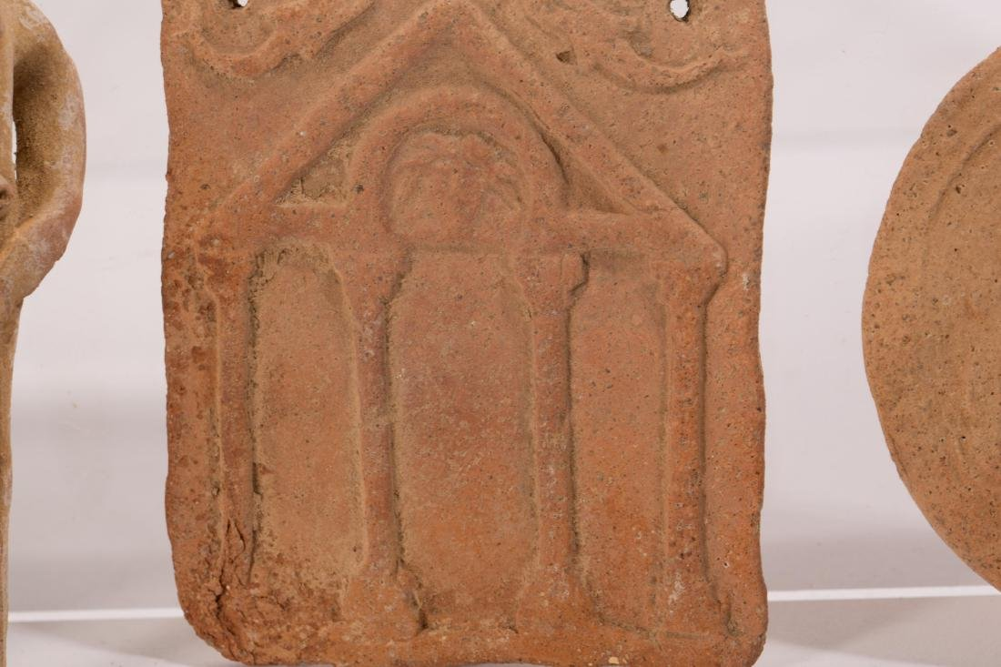 GROUP OF 5 ANCIENT CLAYS - 3