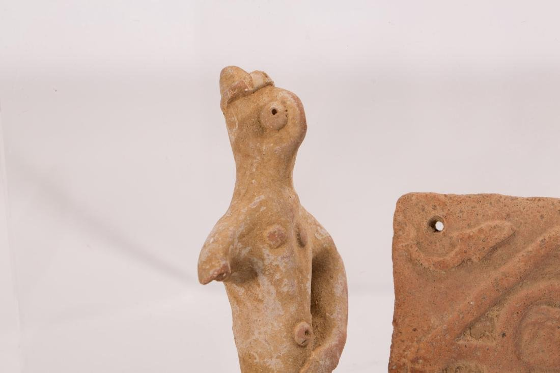 GROUP OF 5 ANCIENT CLAYS - 4