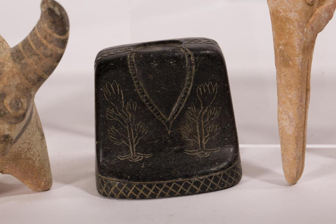 GROUP OF 5 ANCIENT CLAYS - 5