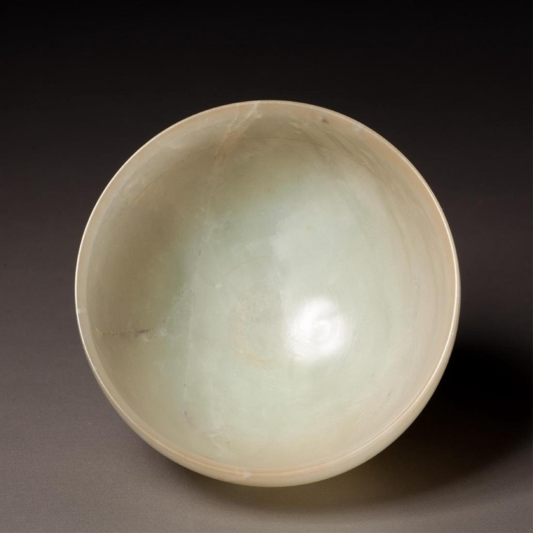 CHINESE WHITE JADE CUP - 5