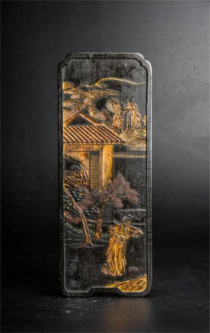 CHINESE QING DYNASTY INK STICK