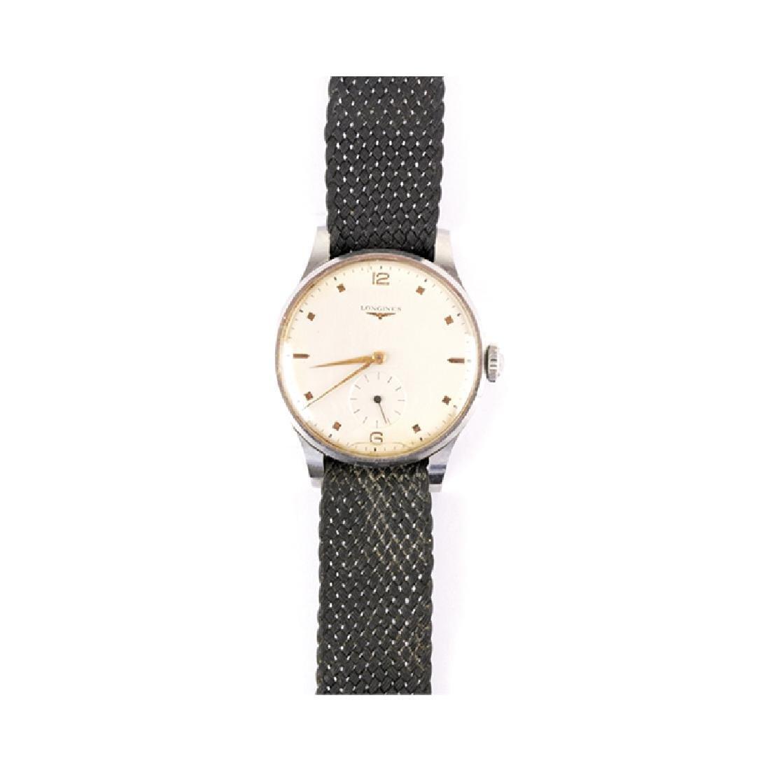 LONGINES steel watch