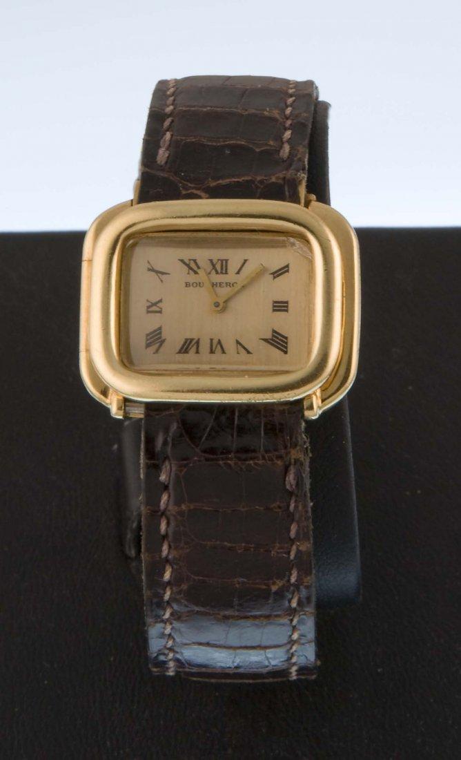 Boucheron, a lady's wristwatch